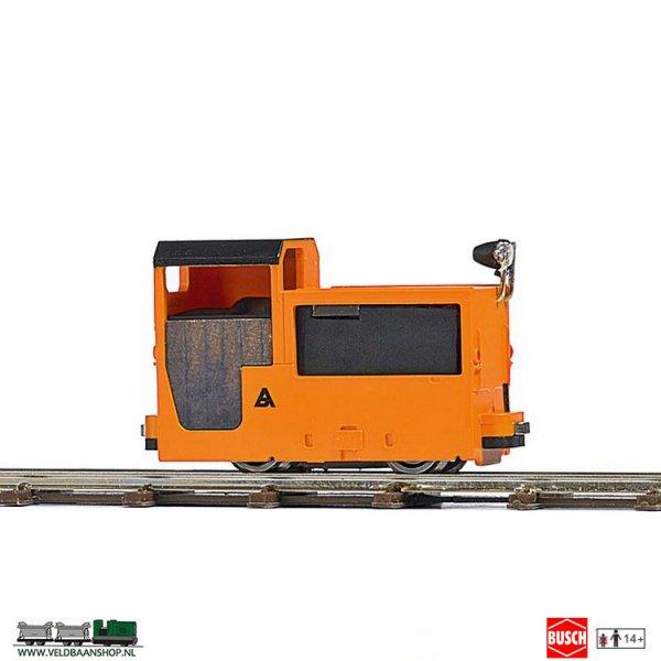 Busch 5014 Mijnbouw Locomotief B 360 Oranje H0f