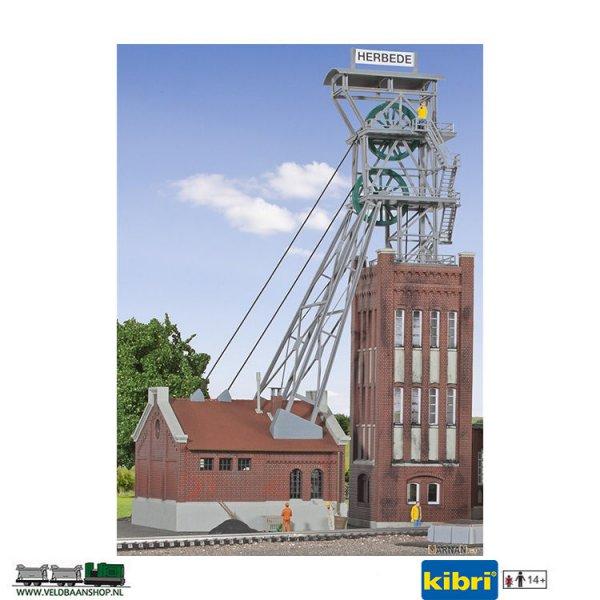 Kibri-49845-Mijntoren-machinehuis-aandrijving-H0