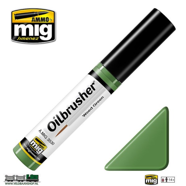 MIG 3530 MIG Jimenez Oilbrusher Weed Green