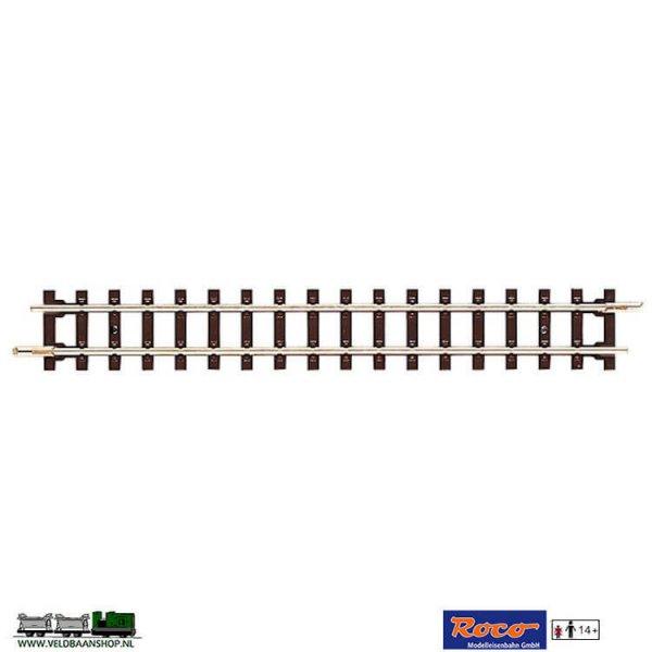 Roco 32202 rechte smalspoor veldbaanrails H0e